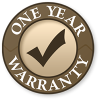 one year warranty for all major appliance repair services